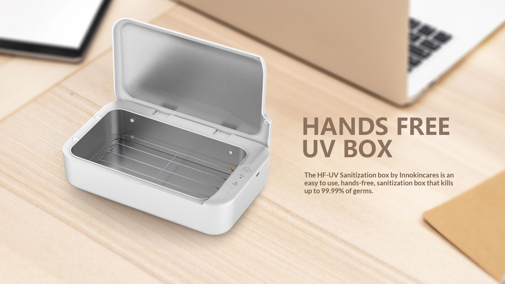 HANDS-FREE-UV-BOX